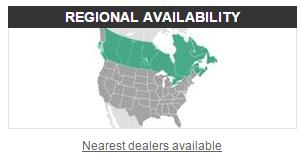 regional availability